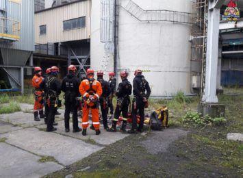 Jastrzębscy strażacy ćwiczą na budynkach EC Moszczenica