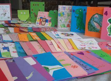 Kartka urodzinowa dla Blanki. Uczniowie z Czernicy we wzruszającej akcji