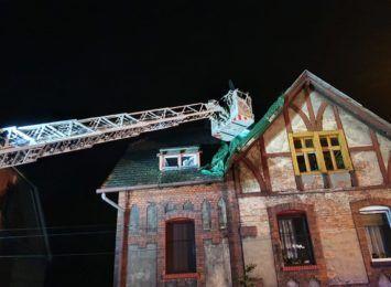 Pożar na familokach: Lokatorzy będą mogli wrócić do mieszkań, choć nie wszyscy
