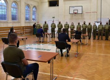 Rośnie zainteresowanie służbą w Straży Granicznej [FOTO]