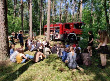 Strażacy wspierali harcerzy w organizacji letnich obozowisk [FOTO]