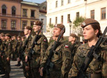 Cieszyn: Żołnierze WOT-u złożyli przysięgę