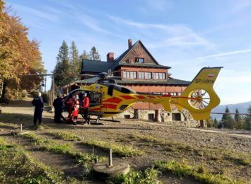 W górach znów lądował helikopter ratowniczy  [FOTO]