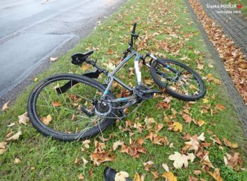 Potrącił rowerzystę, był pijany. Groźny wypadek w Jastrzębiu tego poranka [FOTO]