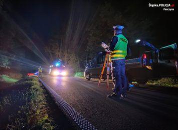 Wypadek w Jankowicach koło Pszczyny. Kierowcy ponieśli śmierć na miejscu FOTO]