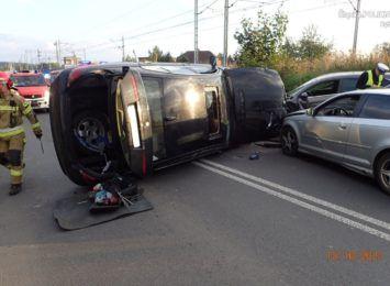 Zdarzenie z Obwiedni Południowej. Kierowca pod wpływem narkotyków? Pasażerka ze środkami odurzającymi [FOTO]
