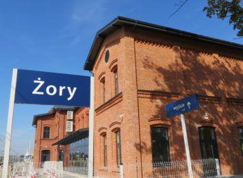 Dworzec kolejowy w Żorach w końcu wyremontowany [FOTO, WIDEO]
