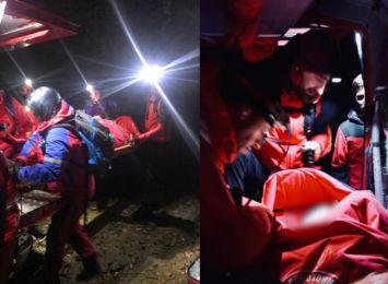 Ratowali w Beskidach dwóch nietrzeźwych turystów. Goprowcy apelują o rozwagę!