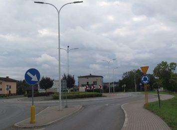 Uwaga kierowcy! Wahadło na rondzie w Pawłowicach