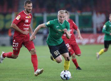 Kolejna porażka GKS-u Jastrzębie. Piłkarze przegrali mecz z Widzewem Łódź 1:3
