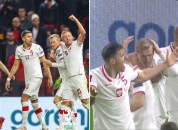 Piłkarze obrzucani butelkami w meczu Albania-Polska. Dobry występ profesora Glika