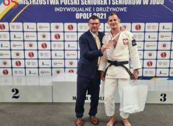 Piotr Kuczera z kolejnym medalem Mistrzostw Polski w judo