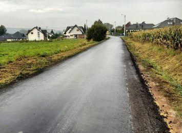 Kolejny odcinek drogi oddany do użytku