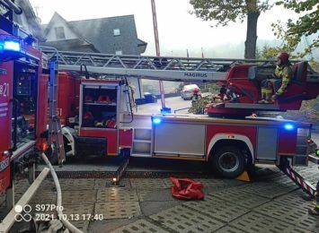 Pożar w Wiśle: Straty to 3 miliony złotych. Dziś na miejscu pojawi się biegły ds. pożarnictwa