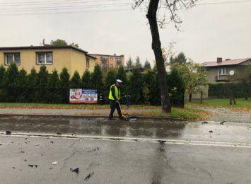 Jedna osoba poszkodowana w wypadku w centrum Rybnika