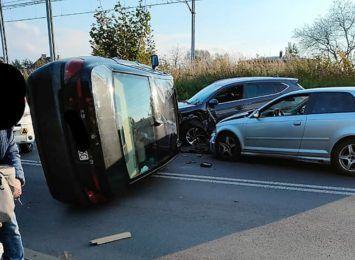 Rybnik: Zderzenie samochodów na Obwiedni Południowej [FOTO]